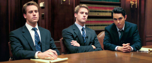 A photo of the Winklevoss twins from 'The Social Network'.