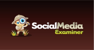The logo from the Social Media Examiner blog