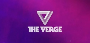 The Verge news logo.
