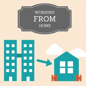Working from home thumbnail for digital marketing blog post