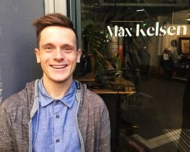 A photo of Max Kelsen's digital marketing & conversions specialist, Lachlan Kirkwood.