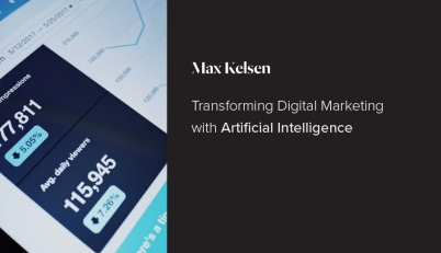 Thumbnail image for artificial intelligence in digital marketing post.