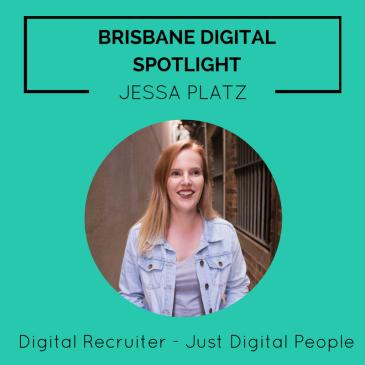 Brisbane Digital Spotlight smaller thumbnail featuring Jessa Platz.