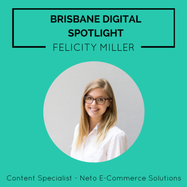 Brisbane Digital Spotlight smaller thumbnail featuring Felicity Miller.
