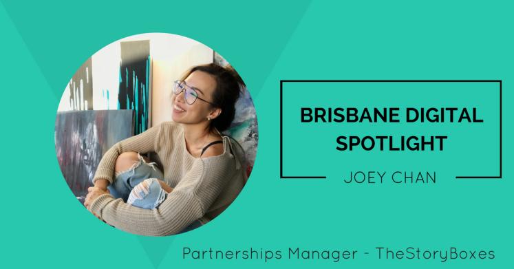Brisbane Digital Spotlight thumbnail featuring Joey Chan.