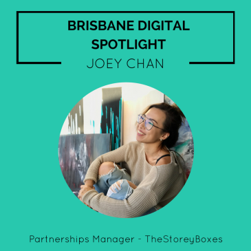 Brisbane Digital Spotlight smaller thumbnail featuring Joey Chan.
