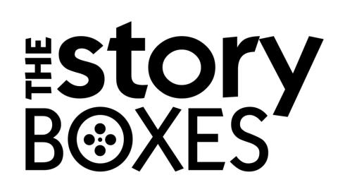 Logo for The Story Boxes, the Brisbane-based digital marketing content studio.