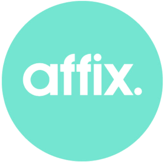 Logo of digital recruitment agency Affix.