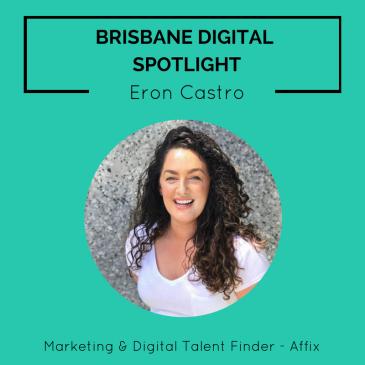 Brisbane Digital Spotlight smaller thumbnail featuring Eron Castro.