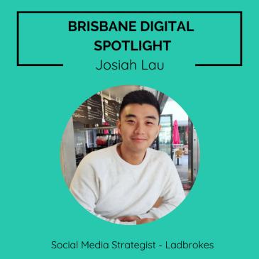 Brisbane Digital Spotlight thumbnail for Social Media Strategist, Josiah Lau.