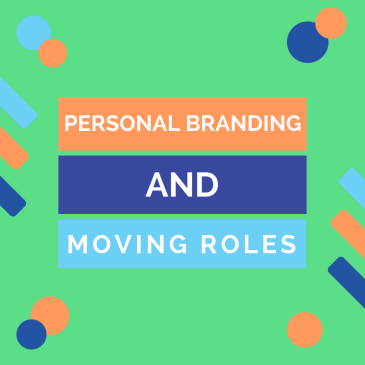 Thumbnail image for a personal branding blog post.