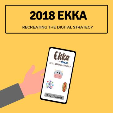 Recreating the Ekka digital marketing strategy blog post.