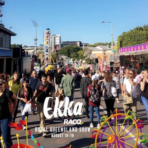 The 2018 Brisbane Ekka SnapChat filter.