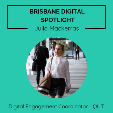 Brisbane digital spotlight thumbnail image for Brand Marketing Manager, Julia Mackerras.