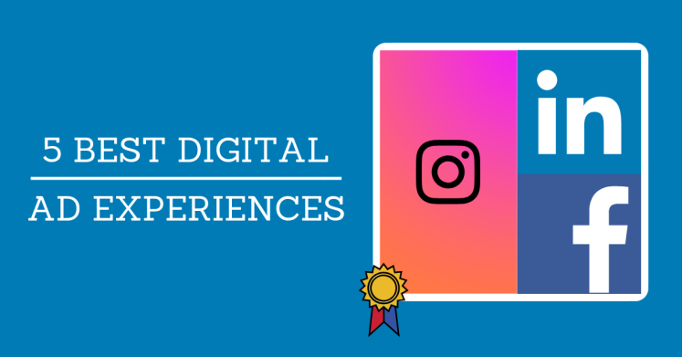 ClickThrough blog post that uncovers the best digital marketing ad experiences.
