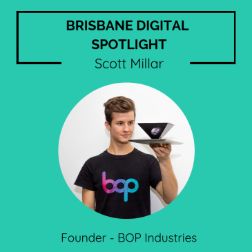 Brisbane digital spotlight thumbnail image for Founder of BOP Industries, Scott Millar.