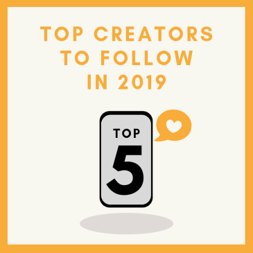 Thumbnail for the top 5 digital creators blog post.