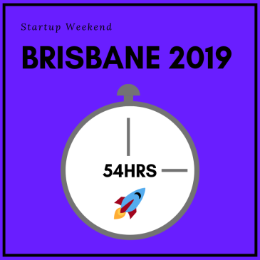 Startup Weekend Brisbane blog post thumbnail.
