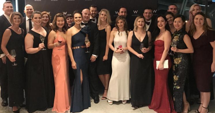 Women In Digital Awards night hosted in Brisbane.