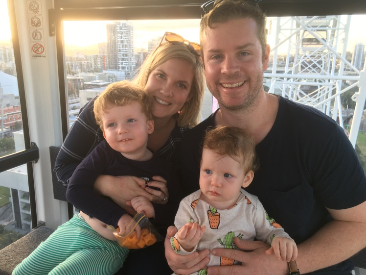 Founder & Digital Strategist, Nathan Bush, enjoying time in Brisbane with his family.