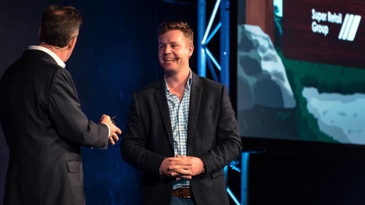 Digital Strategist, Nathan Bush, presenting at an eCommerce meetup in Brisbane.