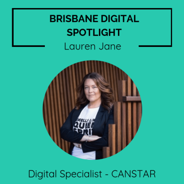 Brisbane digital spotlight thumbnail image for Digital Product Specialist, Lauren Jane.