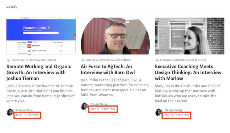 Bubble.io blog content being inconsistently published.