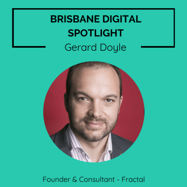 Brisbane digital spotlight thumbnail image for Digital Marketing Consultant, Gerard Doyle.