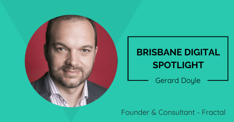 Lachlan Kirkwood interview with Brisbane-based digital marketer, Gerard Doyle.