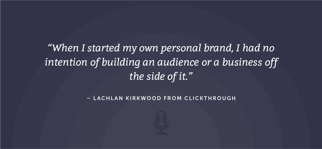 Digital marketing quote from the CoSchedule Actionable Marketing podcast